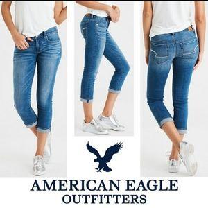 American Eagle Artist Crop Capris